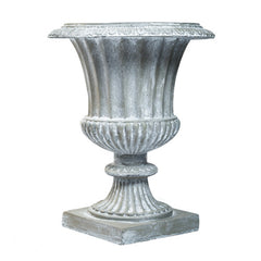 Lg.Fluted Urn 29 H (R) Sculpture - Planters