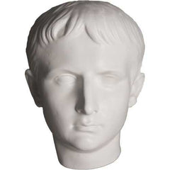 Caesar Youth Mask -  Greek & Roman Classical  Sculpture