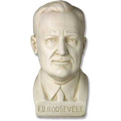 Franklin D.Roosevelt Bust -  Famous Americans Busts