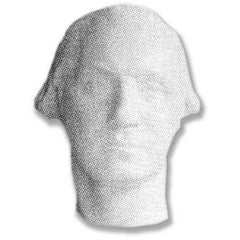 Washington Mask -  Washington Busts