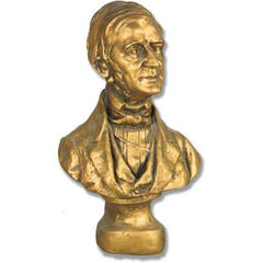 Emerson Bust Sm 14 H -  Famous Americans Busts