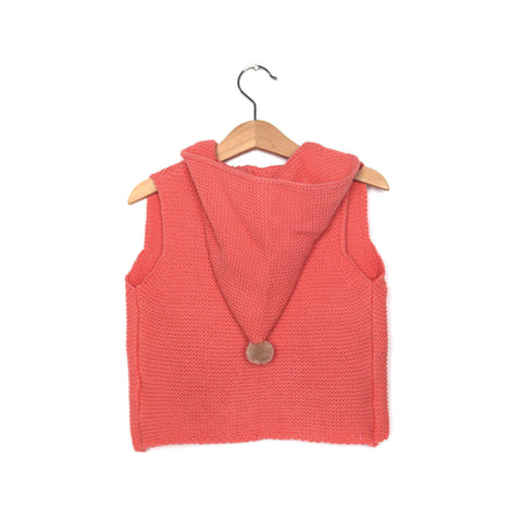 Fairy Knit Vest Red