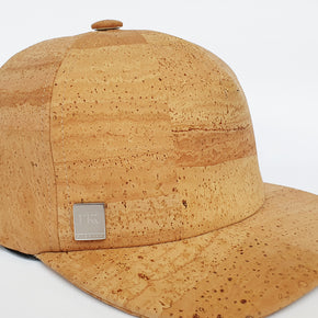 Fabrikk Cork Baseball Cap | Natural Bark | Vegan Leather
