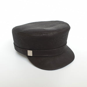 Fabrikk Cork 'Love Train' Hat |  Coal Black | Vegan Leather