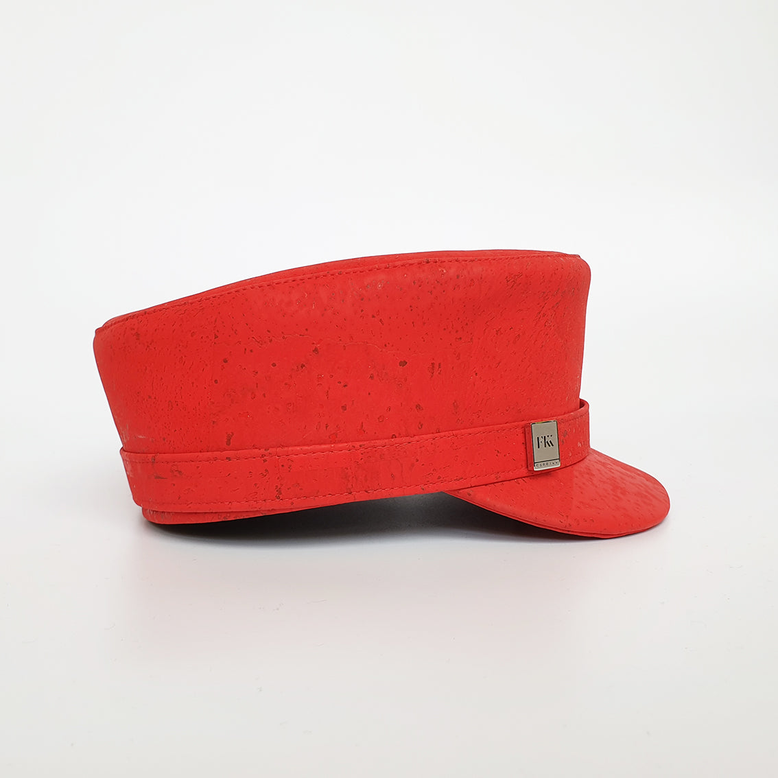 Fabrikk Cork 'Love Train' Hat | Red | Vegan Leather