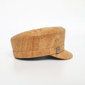 Fabrikk Cork 'Love Train' Hat | Natural Bark | Vegan Leather