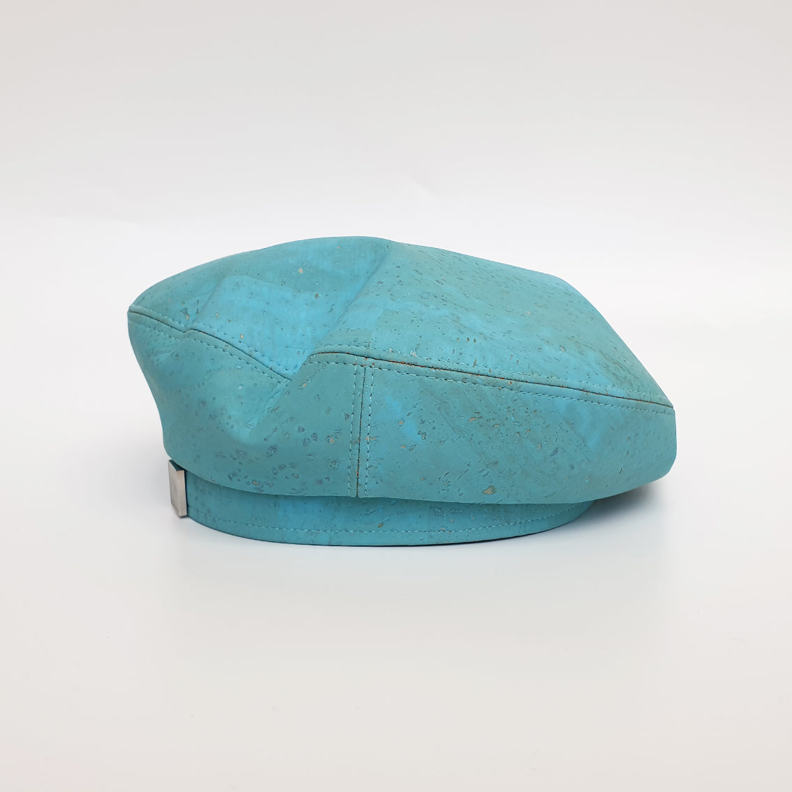 Fabrikk Cork Beret | Bahama Blue | Vegan leather
