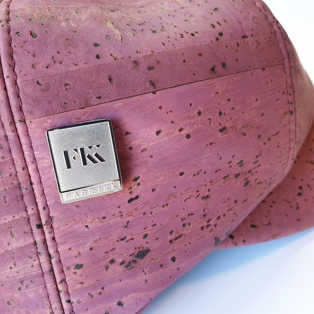 Fabrikk Cork Baker Boy Hat | Purple Music | Vegan Leather