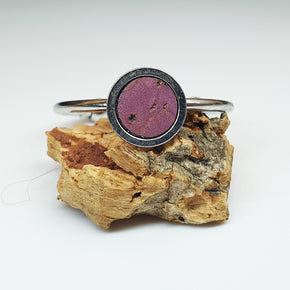 Fabrikk 1 Planet Stacking Ring | Medium | Purple music |  Vegan Leather