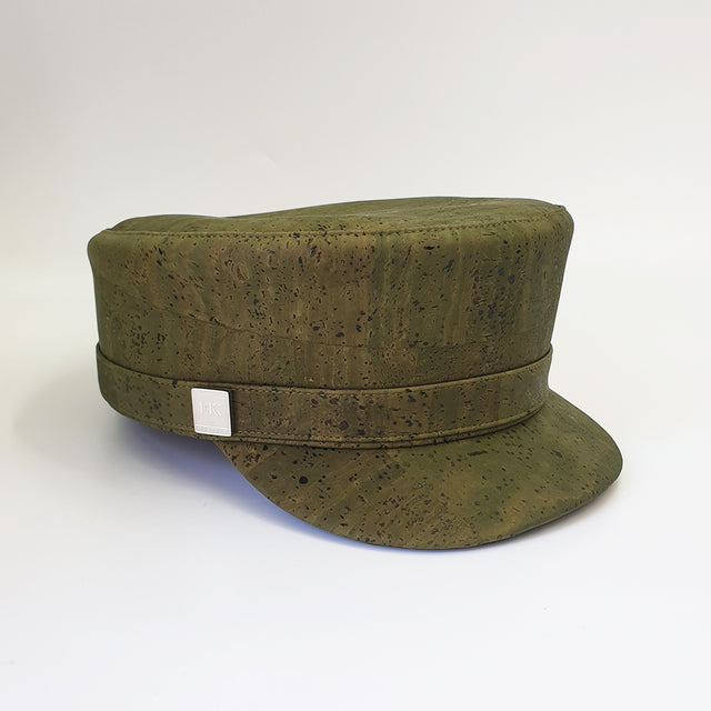 Fabrikk Cork 'Love Train' Hat |  Army Green | Vegan Leather