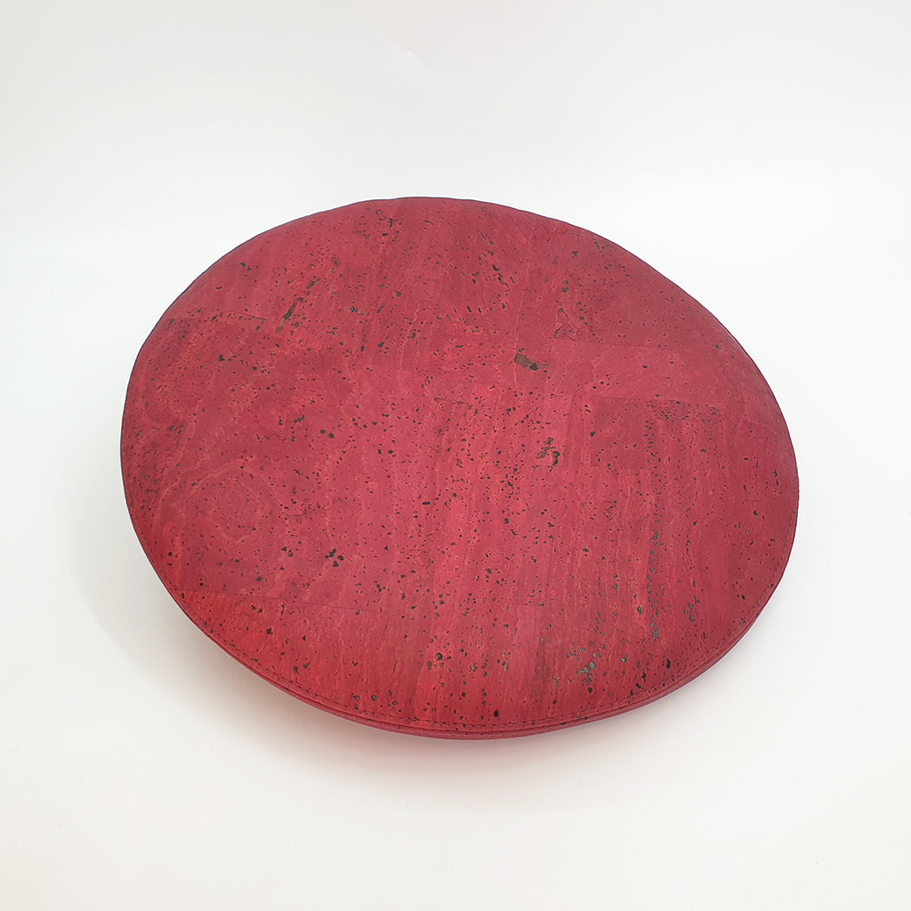 Fabrikk Cork Beret | Burgundy Love | Vegan leather