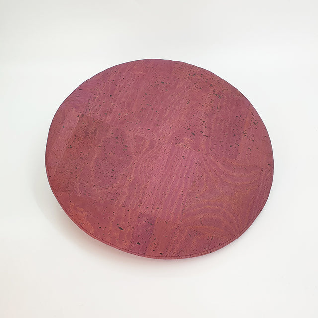 Fabrikk Cork Beret | Purple Music | Vegan leather