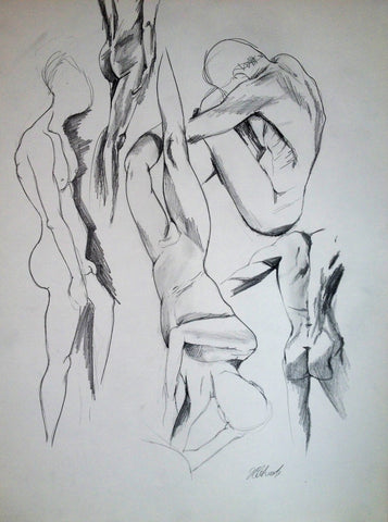 Studies of Male Figure