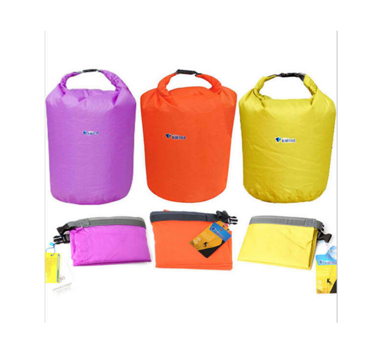 Outdoor Camping Travel Kit Equipment New Portable Waterproof Bag Storage Dry Bag for Canoe Kayak Rafting Sports