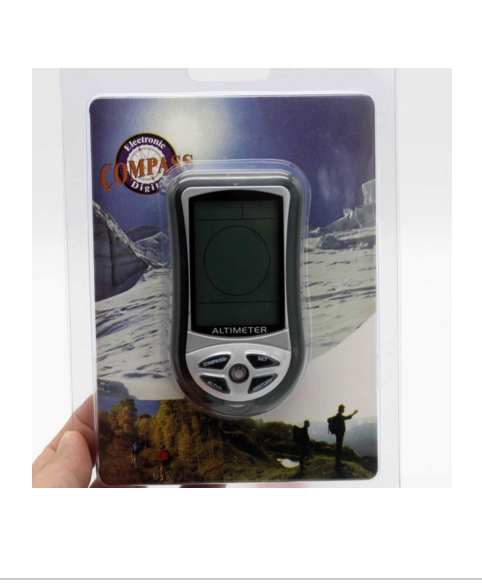 Compass Thermometer For Outdoor Camping Hiking Mountain-climbing Digital Multifunction LCD Altimeter