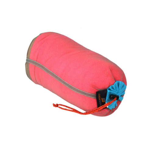 Travel Kits Portable Drawstring Mesh Sack Storage Bag for Traveling Camping Sports