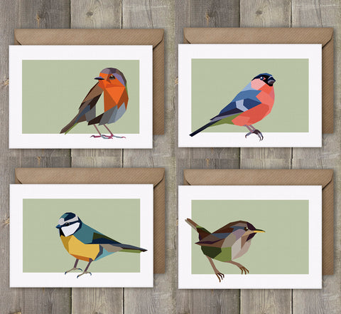 Irish bird greeting cards
