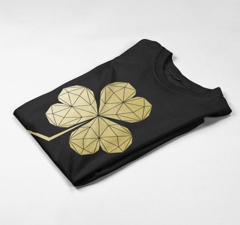shamrock print by stencilize