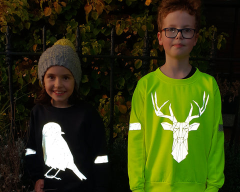 Childrens safety sweaters by stencilize