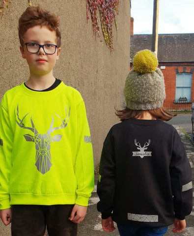 reflective kidswear by stencilize