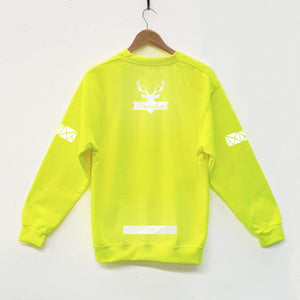 Adult Hi Viz Reflective Puma Sweater - Stencilize