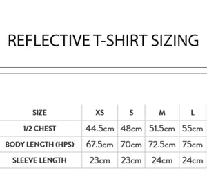Unisex Reflective Dinosaur Cycling T-Shirt - Stencilize