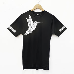 Unisex Reflective Hummingbird Cycling T-Shirt - Stencilize