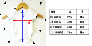 Cool Elephant Graphic Babygrow - Stencilize