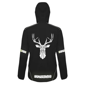 Soft Shell Reflective Stag Jacket - Unisex - Stencilize