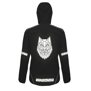 Soft Shell Reflective Wolf Jacket - Unisex - Stencilize