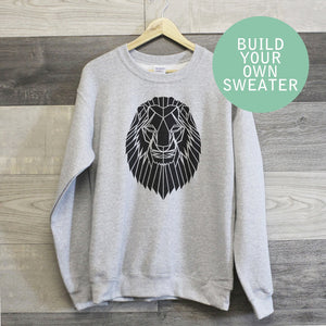 Build Your Own Sweater (Unisex Size) - Stencilize