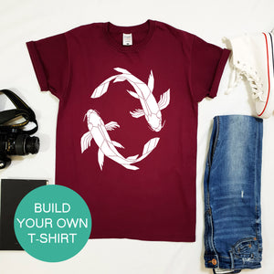 Build Your Own Unisex T-shirt - Stencilize