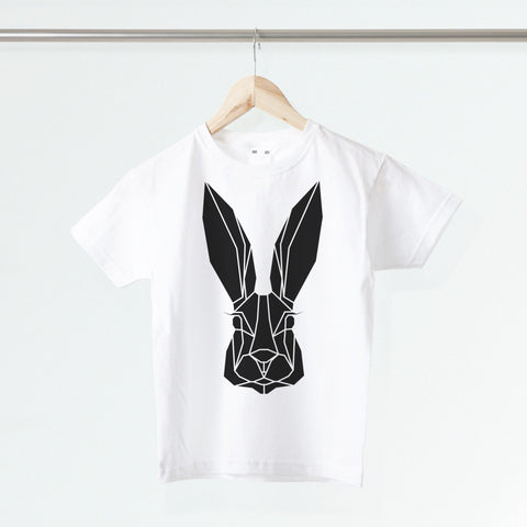 Geometric Bunny Kids T-shirt