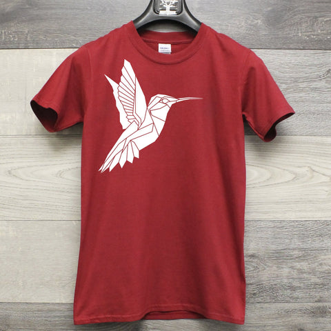 Geometric Humming bird Men's T-shirt