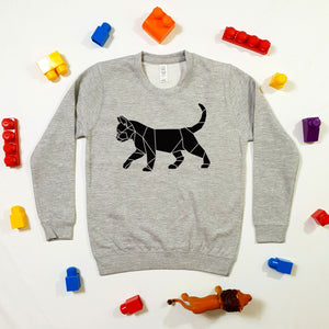 Kids Cat Sweater Build Your Own (Unisex Size)