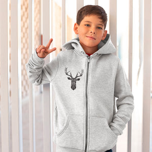 Kids Full Zip Hoodie Build Your Own