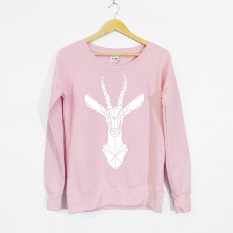 Gazelle Scoop Neck Girls Sweater Limited edition