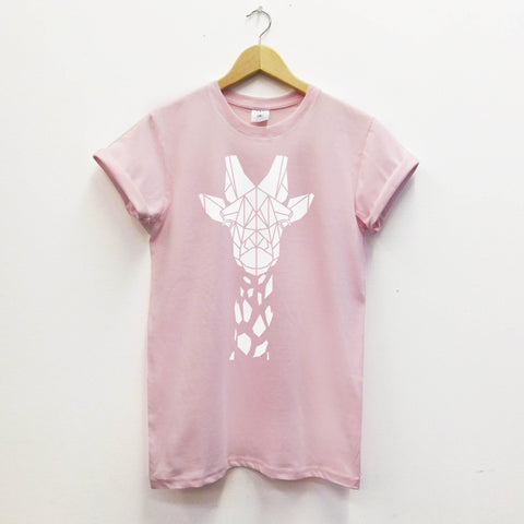 Geometric Giraffe Softstyle T-shirt - Stencilize