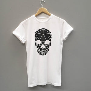 Geometric Skull Softstyle T-shirt - Stencilize