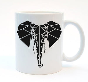 Elephant Mug 11oz - Stencilize