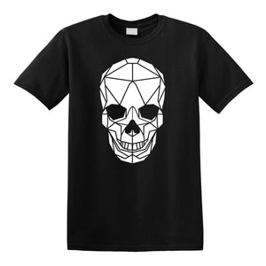 Geometric Skull Kids T-shirt - Stencilize