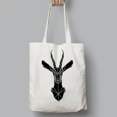 Elegant Gazelle Cotton Tote bag