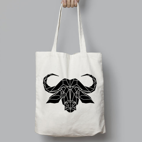 Water Buffalo Cotton Tote bag