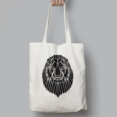 Lion Cotton Tote bag