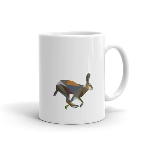 Geometric Irish Hare Mug - Stencilize