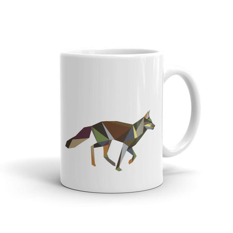 Running Fox Mug by Stencilize
