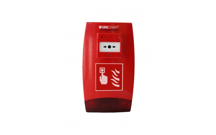Firechief sitewarden SE call point alarm