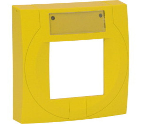 704952 Yellow Fascia for key Switch MCP (for use with S4-34807)