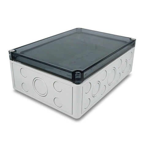 SMB-1 Enclosure Grey Base/Clear Lid