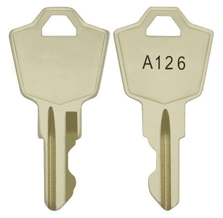 C787 Spare KAC A126 Key For 2 Position Key Switch